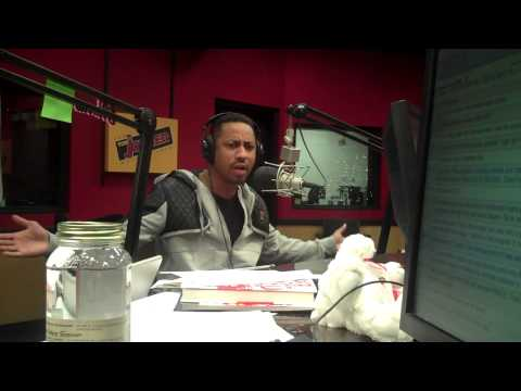 Comedian Brandon T. Jackson talks about flying black on the Tom Joyner Morning Show