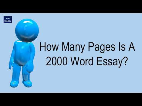 How Many Pages Is A 2000 Word Essay?