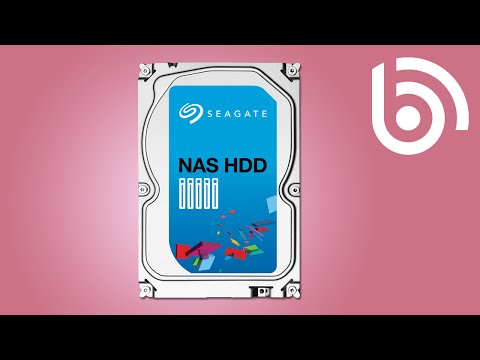 Seagate NAS Hard Drive Introduction