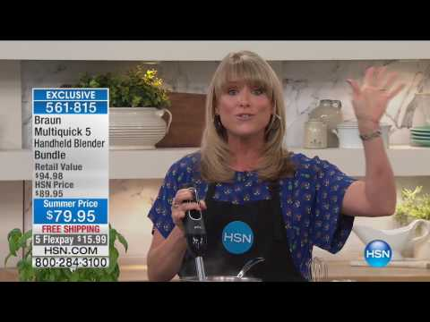 HSN | Kitchen Innovations featuring Braun 06.13.2017 - 01 PM