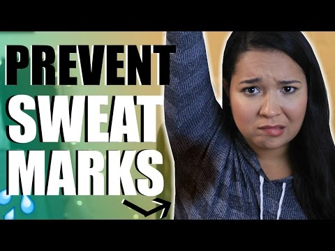 How to Prevent Sweat Marks!
