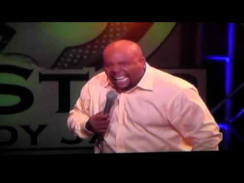 Arnez J on Shaquille O'Neal's Comedy Tour....Rodney Gets into a Fight