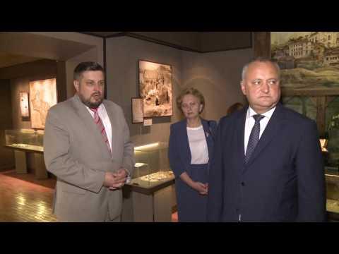 Igor Dodon a vizitat casa-muzeu al renumitului pictor, Marc Chagall, din orașul Vitebsk