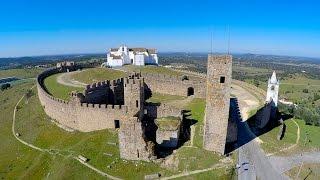 Arraiolos Portugal  city photos gallery : Arraiolos Castle aerial view 1440P