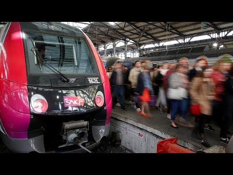 Προβλήματα στις μετακινήσεις από την απεργία των Γαλλικών Σιδηροδρόμων…