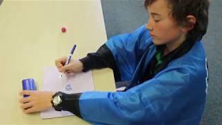 <p>Hiragana writing task – stroke order</p>