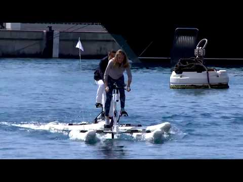 Caritatif : tirage au sort du Riviera Water Bike Challenge