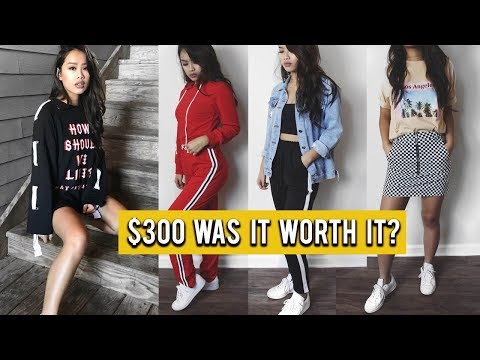 Video I SPENT $300 AT ALIEXPRESS TRY-ON HAUL | Was it worth it?? download in MP3, 3GP, MP4, WEBM, AVI, FLV January 2017