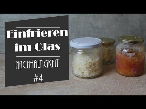 Einfrieren im Glas | Zero-Waste | Plastikfrei |  Nachhaltigkeitsserie #4