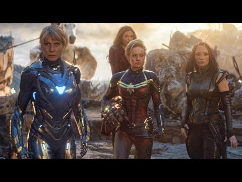 Female Avengers Unite Scene - AVENGERS 4: ENDGAME (2019) Movie Clip