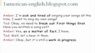تحدث الانجليزية الأمريكية المحادثة 24
