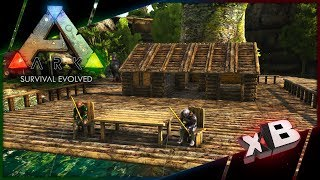 The Fishing Lodge! :: Let's Play ARK: Survival Evolved :: E26