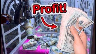 Video MADE SO MUCH MONEY FROM MINI CASH CLAW MACHINE!| JOYSTICK MP3, 3GP, MP4, WEBM, AVI, FLV Juni 2019