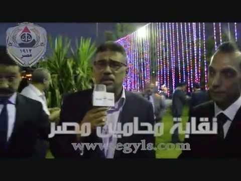 عبدالحميد البكري :شباب المحامين لهم تواجد لايمكن إغفاله