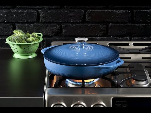 Lodge EC3CC33 Enameled Cast Iron Covered Casserole | Lodge Enameled Cast Iron