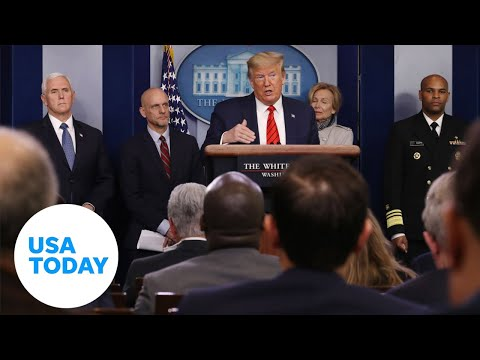 White House addresses coronavirus outbreak 3202020  USA TODAY