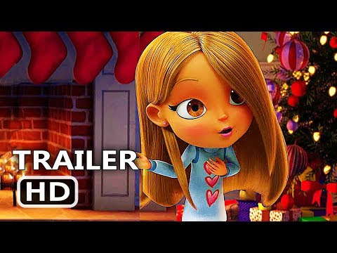 ALL I WANT FOR CHRISTMAS IS YOU Official Trailer (2017) Mariah Carey, Animation Movie HD
