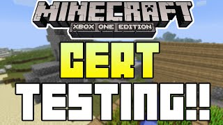 Minecraft Xbox One Edition - IN CERT TESTING! CONFIRMED + MICROSOFT + MORE INFO!