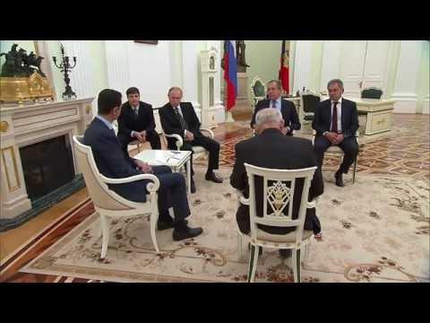 Башар Асад на встрече с Владимиром Путиным: Благодаря помощи РФ мы одержим победу над ИГ