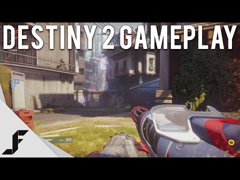 DESTINY 2 MULTIPLAYER GAMEPLAY - PVP Crucible and PVE Strike