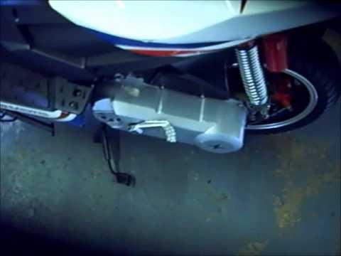 comment demarrer scooter au kick