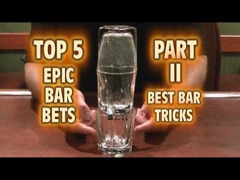 Cinco truques de bar
