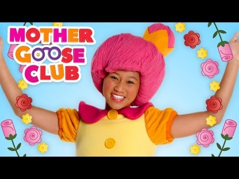 Ring Around the Rosy - Mother Goose Club Nursery Rhymes