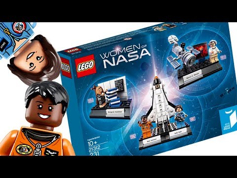 Problems with the LEGO Women of NASA set..._A héten feltöltött legjobb űrhajó videók