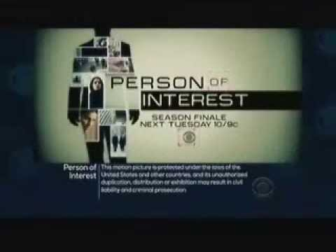 Person of Interest 3.23 (Preview)
