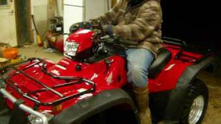 5. New 2009 500 Honda Foreman Rubicon