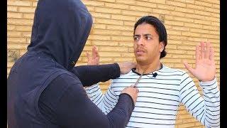 الدفاع عن النفس ضد السكين علي الحنجرة / منطقة الموت - قتال الشارع Defending a Knife to the Throat