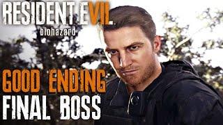 Resident Evil 7 - Final Boss & Good Ending