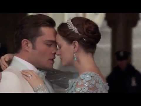 Gossip Girl 6x10 - Chuck & Blair get married '3 words 8 letters', then Chuck is arrested