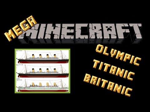 Minecraft Xbox360 - MEGA-MINECRAFT ►8◄ - Titanic, Britanic y Olympic