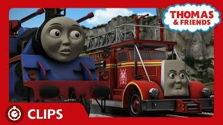 Sodor's Two Fire Engines | Clips | Thomas & Friends