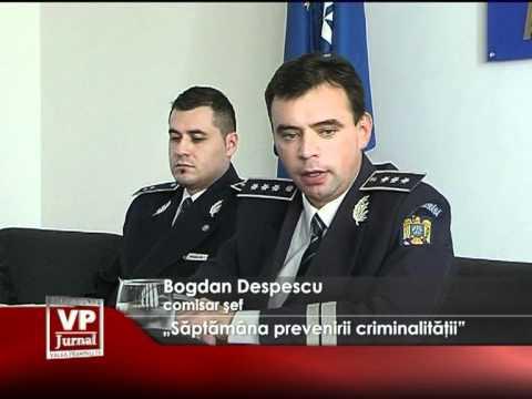 """""""Săptămâna prevenirii criminalităţii"""""""
