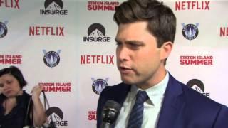 Nonton Staten Island Summer  Screenwriter Colin Jost Red Carpet Movie Premiere Interview Film Subtitle Indonesia Streaming Movie Download