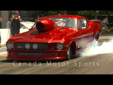 NHRA Drag Racing Pro Mods & Doorslammers – Mission, BC – June 27/09 part 1 of 4