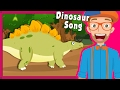 Blippi Dinosaur Song and More | Educational Videos for Preschoolers