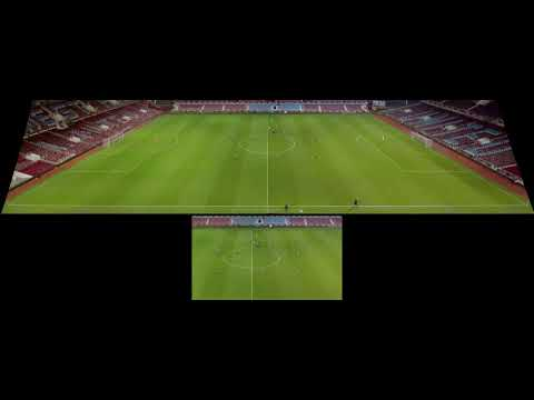 Automatic Camera Movement in Panoramic Images for Sports