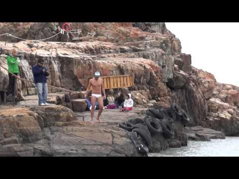 2ª parte de la historia de Matías Ola nadando en las aguas frias de El Calafate, Unir el Mundo