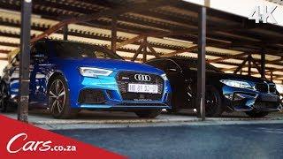 Audi RS3 vs BMW M2 - The Rematch Part 1 - Drag Race
