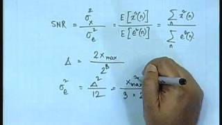 Lecture - 4 Quantizers For Speech Signal