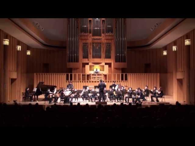 ホルンアンサンブルとパイプオルガンによる、交響曲第3番「オルガン付き」より第2楽章後半(C.サン=サーンス)