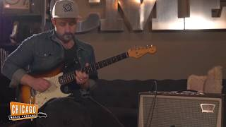 Chadwick drops in to give us a gritty performance on this beautiful vintage 1960 Fender Stratocaster. The top has some light dings...