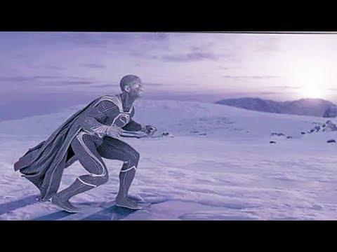 Stunts and VFX First Flight Scene 'Man of Steel' Behind The Scenes