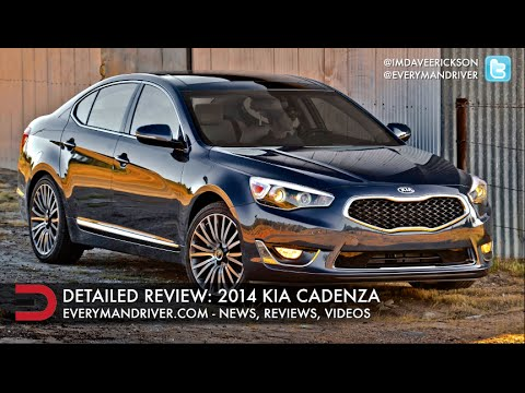2014 Kia Cadenza DETAILED Review on Everyman Driver