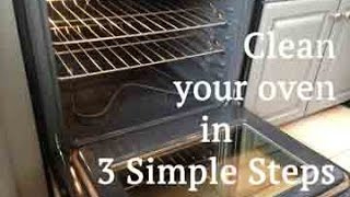 Don't use harsh chemicals to clean your oven! Follow my 3 simple steps to make your oven sparkle like new again.