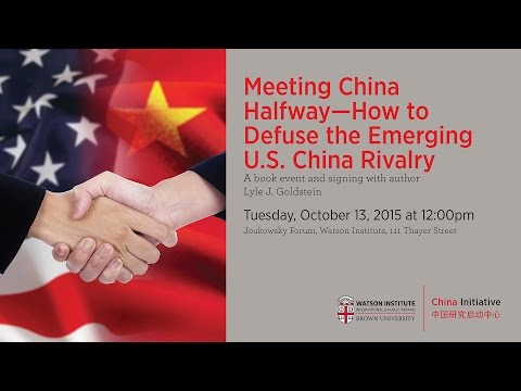 Meeting China Halfway: How to Defuse the Emerging US-China Rivalry