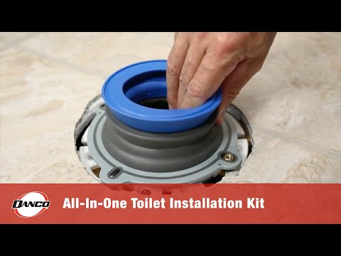 NEXT BY DANCO PRODUCT HIGHLIGHT   All-In-One Toilet Installation Kit